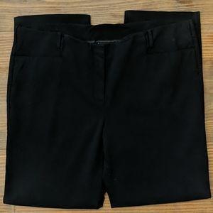 LANE BRYANT Black Stretch Straight Leg Pants
